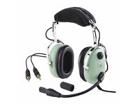 David Clark H10 - 13.4 Aviation Headset *NEW UNUSED* 5yr Guarantee.