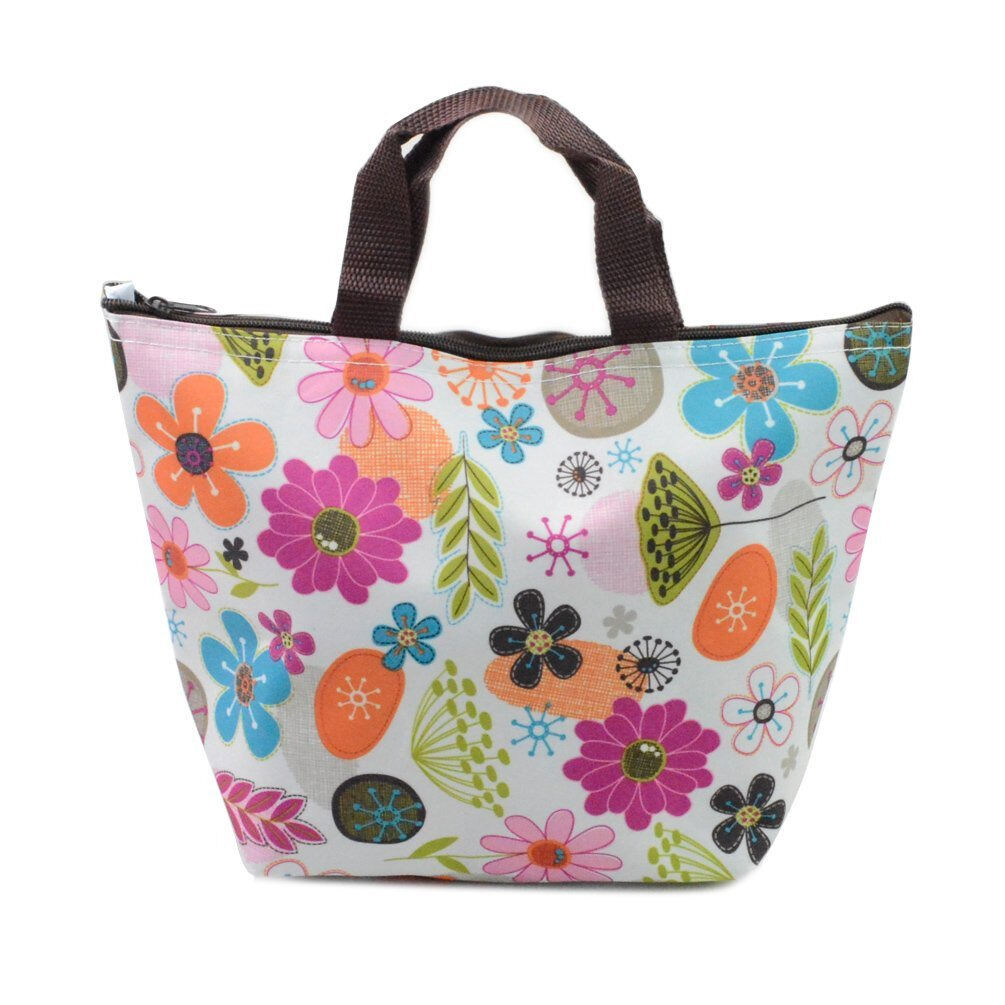 Waterproof Lunch Bag Insulated Tote Thermal Box Cooler Trave