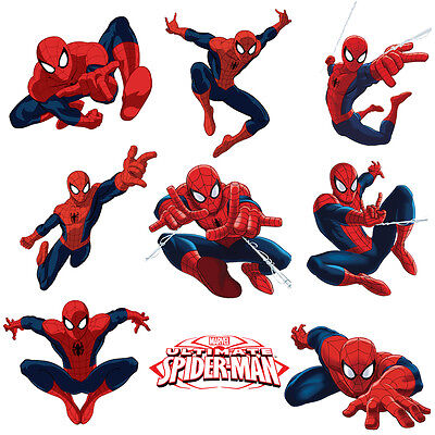 Spiderman Stickers for Kids Room Wall Decor | Spider-man Party Decoration - Wall Decorations For Parties