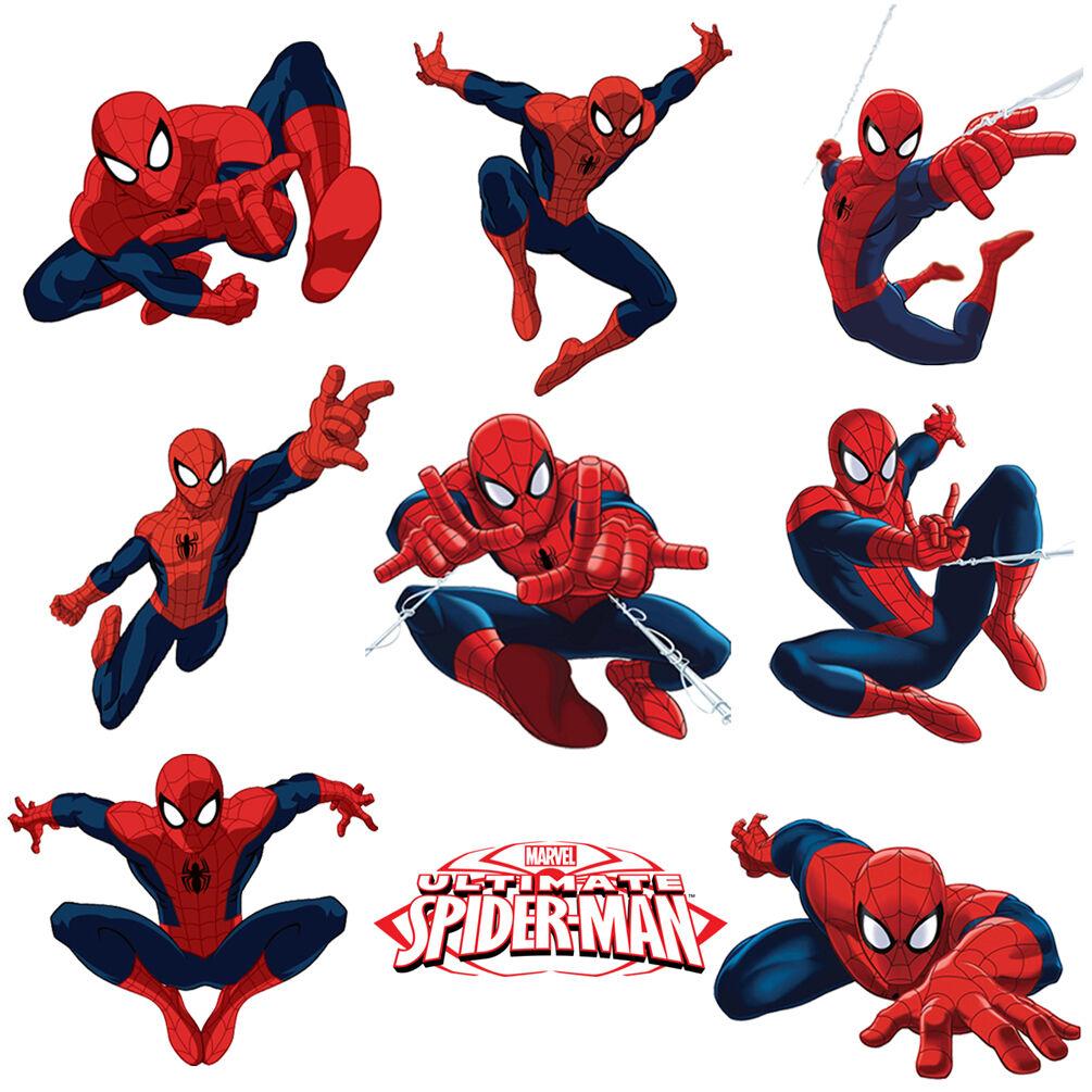 Spiderman Stickers for Kids Room Wall Decor | Spider-man Par