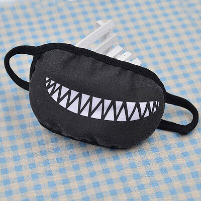 Funny Zombie Anime (Hot Anime Zombie Brother Cartoon Small Teeth Face Mouth Mask Balck Funny)