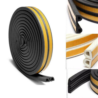 10M Draught Excluder Weather Seal Strip Noise Insulation Door Window Sticky Tape