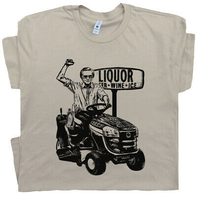 George Jones T Shirt Funny T Shirt Lawn Mower Cool Vintage Tractor Country -