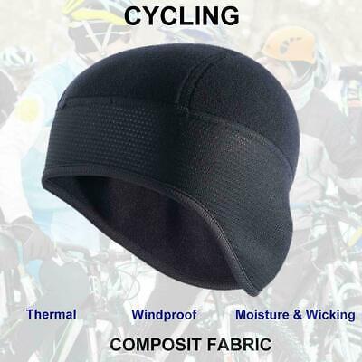 Winter Thermal Cycling Skull Cap Bike Motorbike Under Helmet Hat Ear Warmers GO9