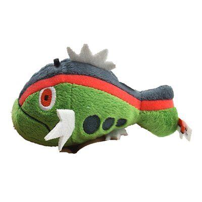 New Pokemon High Quality Green Fish Plush 4'' Basculin Soft Plush Doll Toy