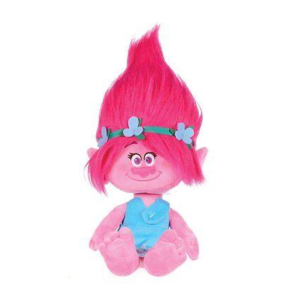 ORIGINAL Princess POPPY Plush 30cm from TROLLS Movie Dreamworks Soft Toy