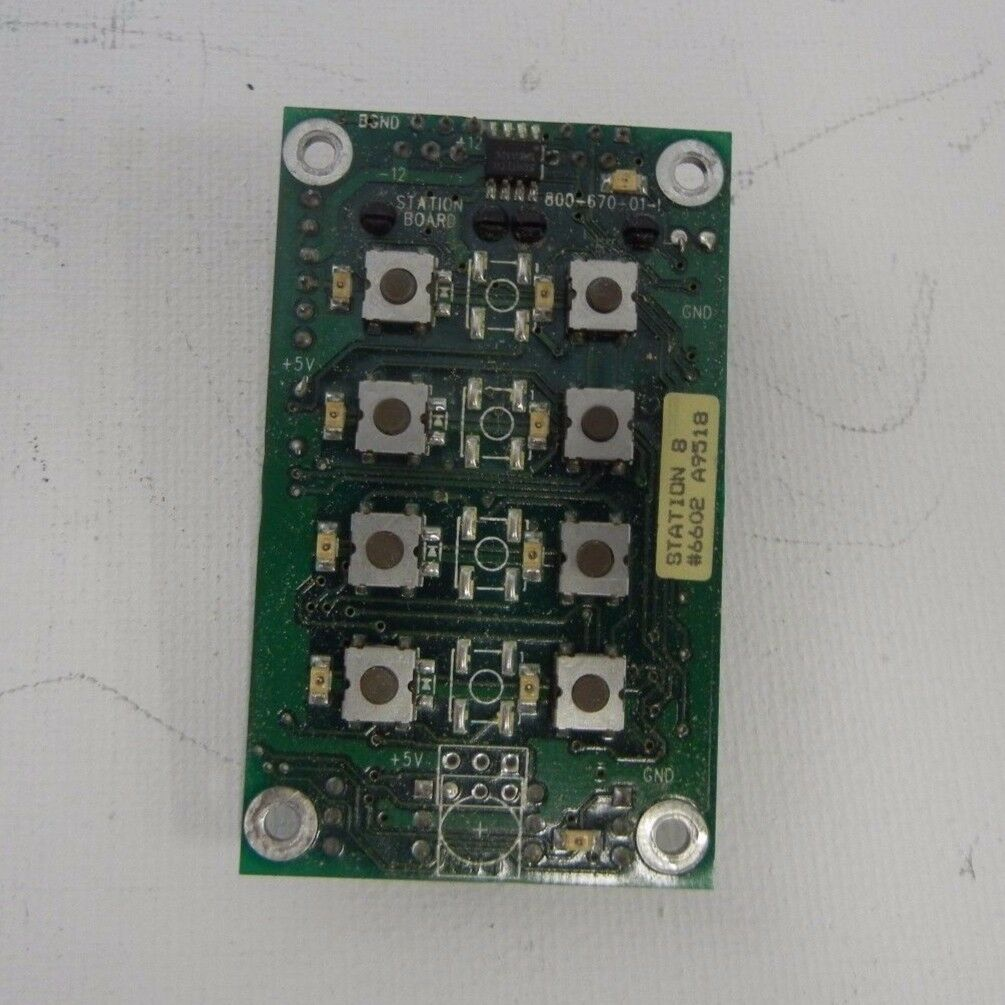 Vantage Control, Vision System 8 Button Keypad board for button config 5 to 8