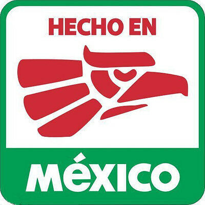 3pc Hecho En Mexico Hard Hat Sticker Mexican Oilfield Trash Decal Free Shipping