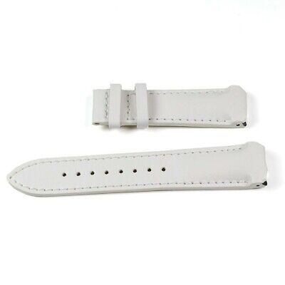 Uhrenarmband Kalbleder Weiß Tissot T-Touch T610014627 für Modelle Z252