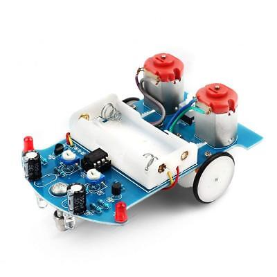 Whdts Smart Car Soldering Project Kits Line Following Robot Kids Diy Electronics