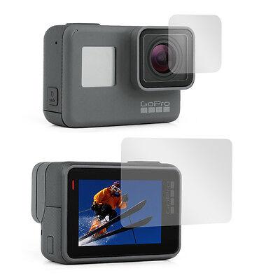 NEW Lens + Screen Film Protector for GoPro Hero 5 6 7 Black Edition Hero 2018