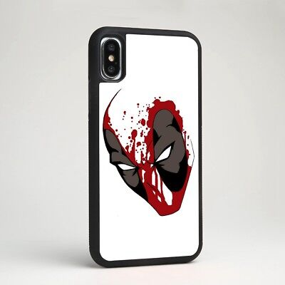 Marvel Deadpool Superhero Comic Soft Case Cover for iPhone Samsung Galaxy Note 9