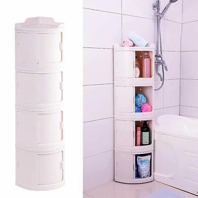 1 2 3 4 Drawer Bathroom kitchen Corner Shelf Cabinet Storage Unit Chest Cupboard