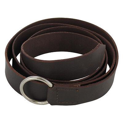 Steel Ring Simple Medieval Leather Costume Re-enactment Belt