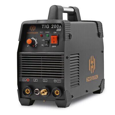 Hzxvogen Tig Welding Machine 110v220v 200amp High Frequency Mma 200 Tig Welder