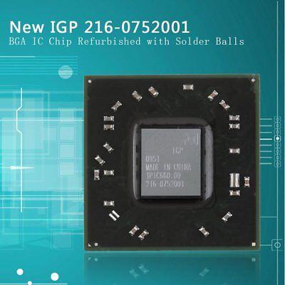 100 New Original Amd Radeon 216-0752001 10 Bga Ic Chip With Solder Ball Tx