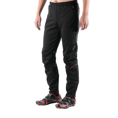 SOBIKE NENK Winter Cycling outdoor Casual Fleece Wind Pants with Pockets Black
