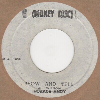 Horace Andy Show And Tell Monkey Disc Soul Northern Rocksteady