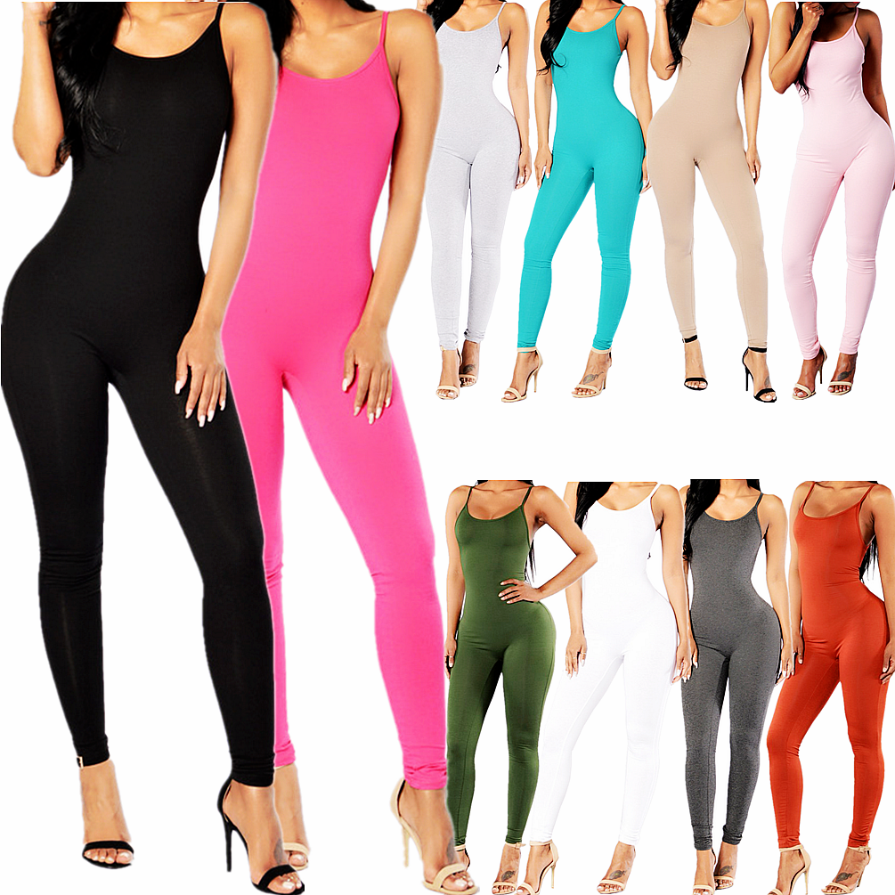Women Jumpsuit Romper Bodycon Playsuit Clubwear Long Party U