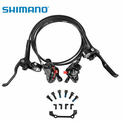 New SHIMANO BR-BL-MT200 Disc Brake MTB Brake Set Bike Hydraulic Front&Rear Black