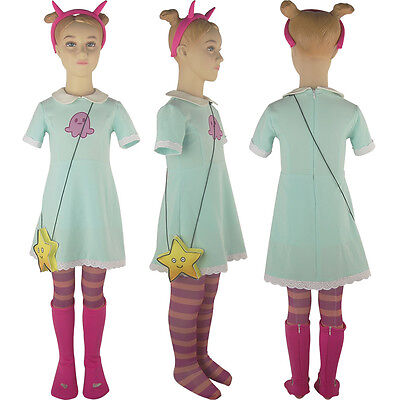 Evil Princess Costume (Kids Girls Star vs. the Force of Evil Princess Star Butterfly Dress Costume)