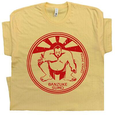Japanese Sumo wrestling T SHIRT Japan art fight club retro gym wwf Karate Kid - Kids Sumo Wrestling