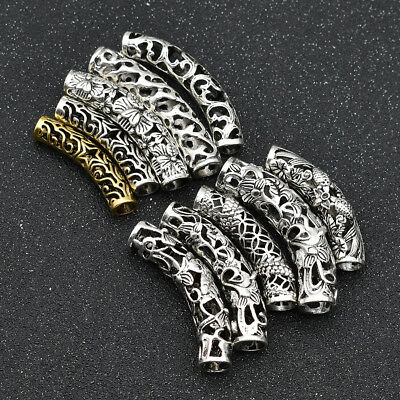 5Pcs/Lot Dirty Elbow Alloy Hair Beads Dreadlocks Ring For Hair Decoration Gift](Hair Clips For Dreadlocks)