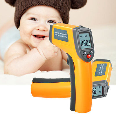 Non-contact Lcd Ir Laser Infrared Digital Temperature Thermometer Gun Better Jl