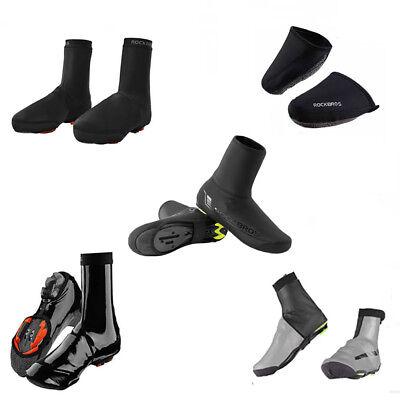 - RockBros Cycling Shoe Covers Winter Warm Waterproof Black Protector Overshoes