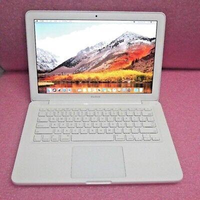Apple MacBook A1342  2.4 GHz 250GB HDD 4GB RAM High Sierra 10.13.5 Laptop
