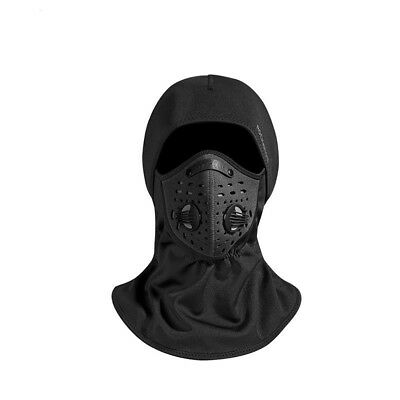 Celerest Windproof Outdoor Riding Mask Thermal Fleece Winter Warm Cycling Mask Neck Warmer Reversible Headband Ski Face Mask