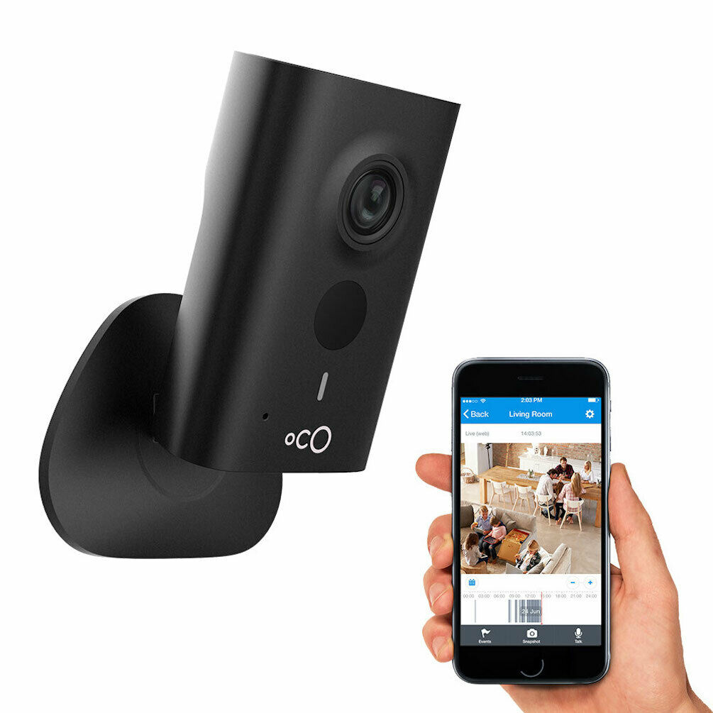 Oco HD Cloud Security Camera Video Monitoring Surveillance with Remote Access