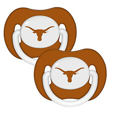 Texas Longhorns Orthodontic Pacifiers Infant Baby Fanatic 2