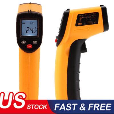 Digital Non Contact Lcd Ir Laser Infrared Temperature Thermometer Gun Pyrometer