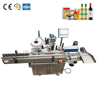 Mt-200b Round Bottle Labeling Machine With Date Printer Sticker Bottle Labeler