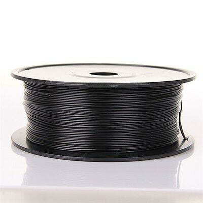 3D Printing Printer Filament PLA 1.75mm 1kg/sample for Maker bot18 schwarz