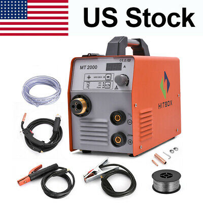 Hitbox 3in 1 Mig Welder 220v Gas Gasless Igbt Arc Lift Tig Mig Welding Machine