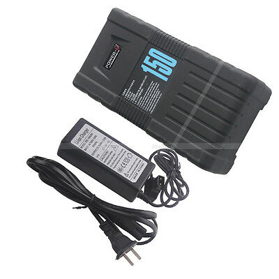 150S 150Wh 14.4V 10.2Ah V-Mount POWER-U Li-ion Battery Charger for SONY RDE ONE
