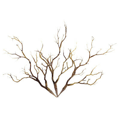 3X Plastic Manzanita Dry Plant Tree Branch Wedding Party Decor Home Ornament US ()