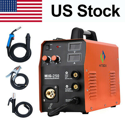 Hitbox Mig Welder 200a Inverter Dc Arc Stick Lift Tig Mig Welding Machine 220v
