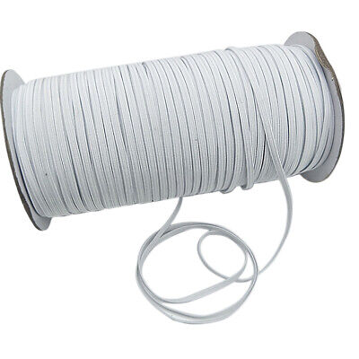 200 Yards Elastic Rope Band Rubber Tape Stretch String Cord Ear Hanging DIY US