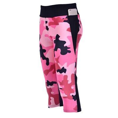 Leggings,Nylon Hose,Camouflage Caprihose,Glanz Leggings,Fahrradhose,Lycra, L - Capri Leggings Nylon