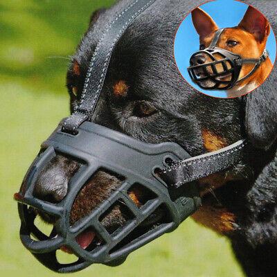 Soft Large Dog Basket Muzzle Mesh Cage No Barking Biting Chewing XS S M L XL XXL