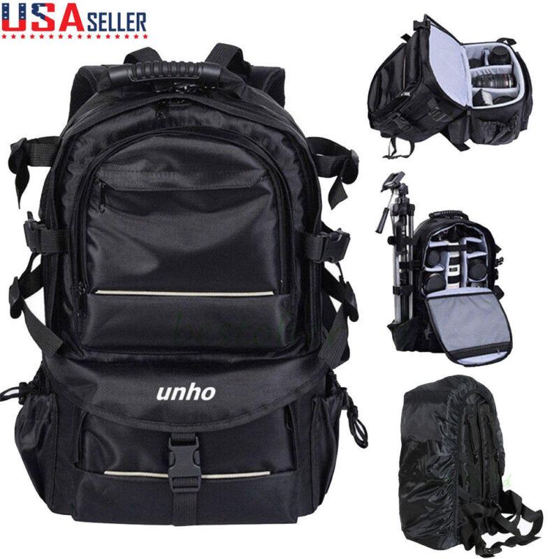 Extra Large Digital Camera Shoulder Backpack SLR DSLR Bag for Nikon Sony Canon