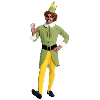 Buddy The Elf Costume Xl (NEW Buddy the Elf Complete Adult Costume Mens XL (44-46) Rubies 880419)