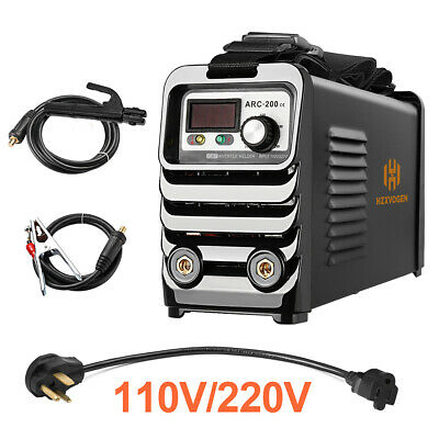 Hzxvogen Arc Stick Welder Dual Voltage 110220v Mma Stick Arc Welding Machine