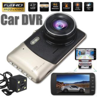 In Car DVR - 2 in 1 dual camera and reverse cam.