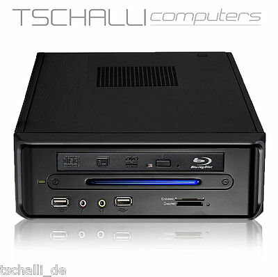 Quad-Core Mini PC DVD HDMI VGA AMD A10-4655 4GB/120GB SSD stromspar leise A35