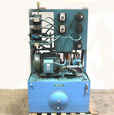 Marmac Mx78112 1000-psi 15-hp Hydraulic Power Unit Vickers Flow-control-valves