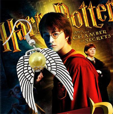 Fantastic Harry Potter Beads Wings Charm Earrings Bronze Silved Plated Earrings